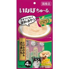 이나바 강아지용 완츄르 - 닭가슴살 & 고구마